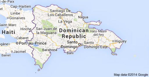 Map of Dominican Republic - Beachtown Property